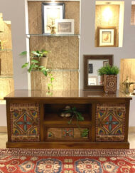 Saudi Door Design TV Cabinet