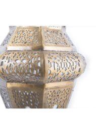 Moroccan Brass Pendant Lantern Filigree style