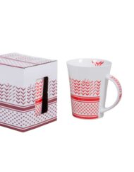 Ceramic Art Mugs Shemagh Design