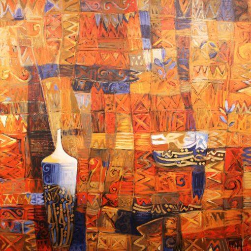 Fahad Kholaif Acrylic on Canvas