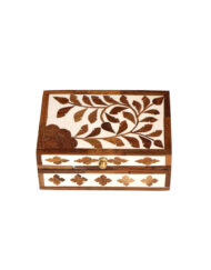 Inlay Wood Modern Trinket Box
