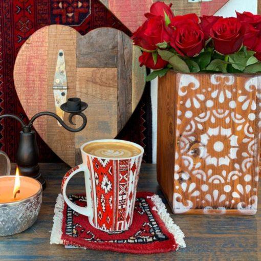 Ceramic Art Mugs Arabesque Designs