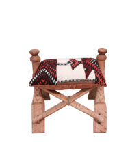 Camel Saddle Footstool