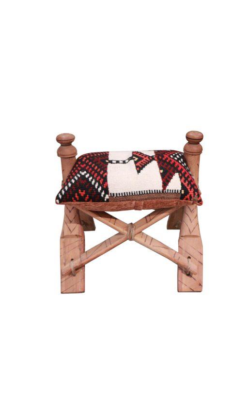 Camel Saddle Footstool