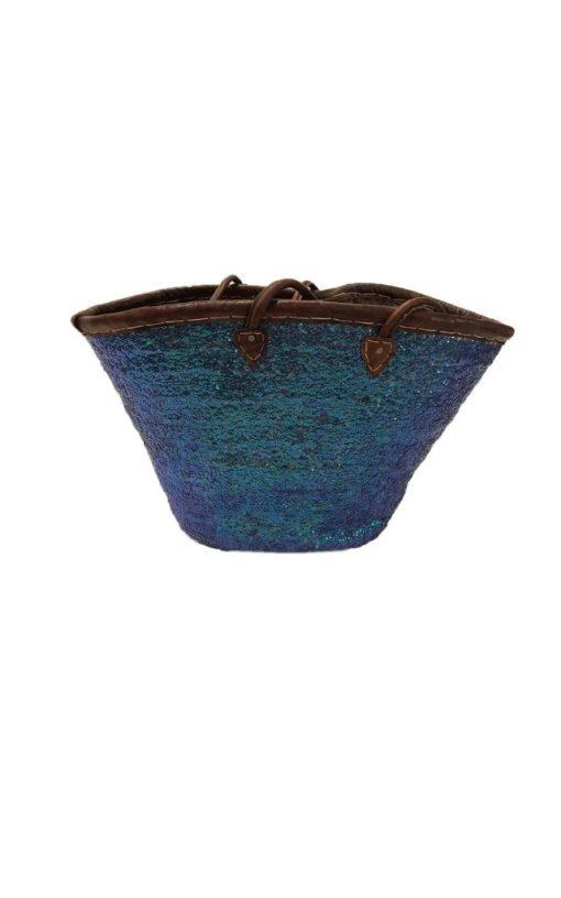 Handmade Moroccan Basket Handbag