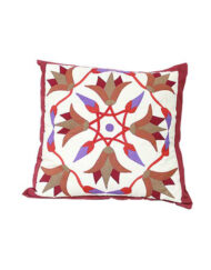 Square Patchwork Pillow 'Khayamiya' Style