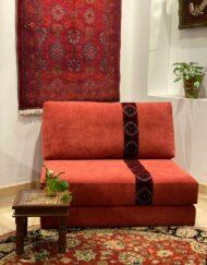 Upholstered Free Standing Floor Seating Sadu Trim
