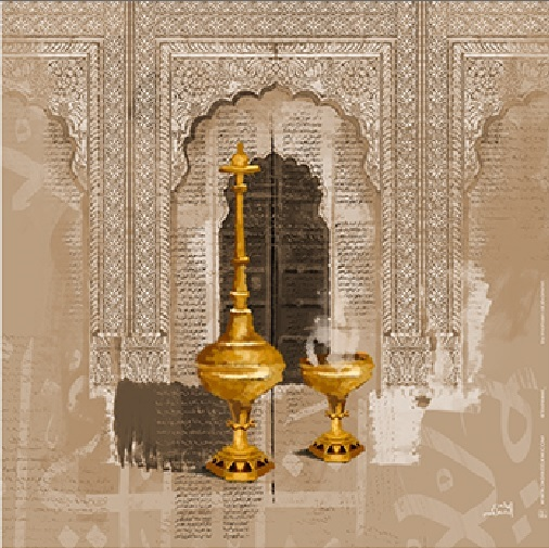 Mohsin Alshamari Digital Art Canvas Print