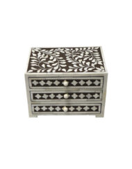 Bone Inlay Jewelry Box Drawers