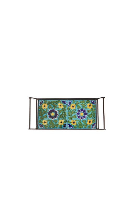 Ceramic Tile Inlay Tray