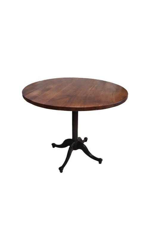 Round Dining Table Iron Stand
