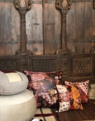 Cushion Saudi Artist Seema AbdulHai digital print