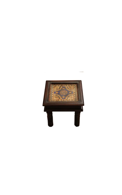 End Table Small Wood