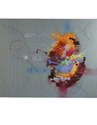 Jassim Al Dhamin Art On Canvas