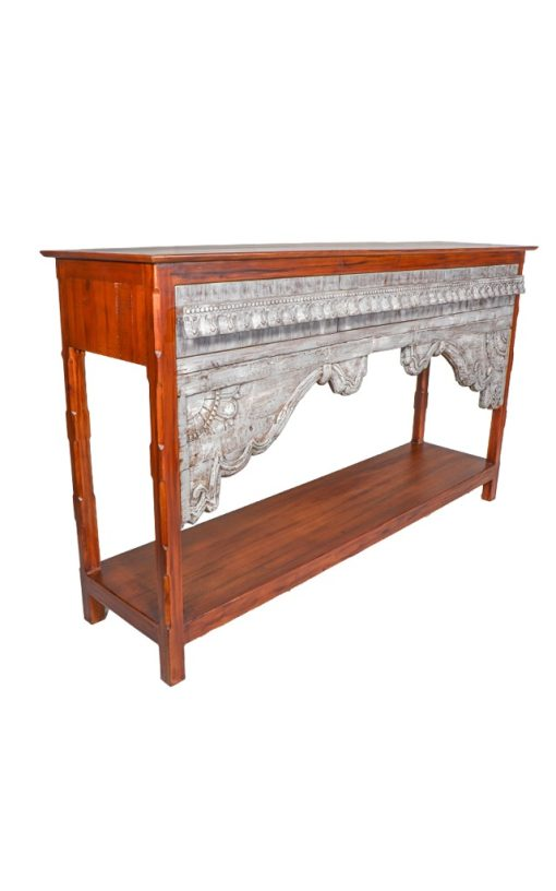 Console Table Handcrafted Wooden