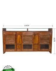 Sideboard Antique Window Shutter