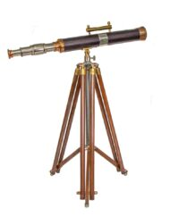 Handcrafted Telescope Wooden Stand