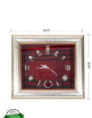 Saudi Bedouin Jewelry Wall Clock