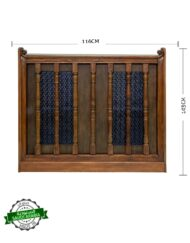 Custom Made Teakwood Sideboard