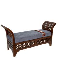 Moroccan Bench Custom Upholstered