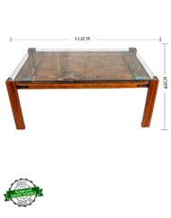 Saudi Window Coffee Table Hand Painted