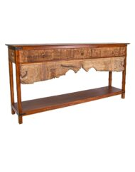 Console Table Wooden Handcrafted