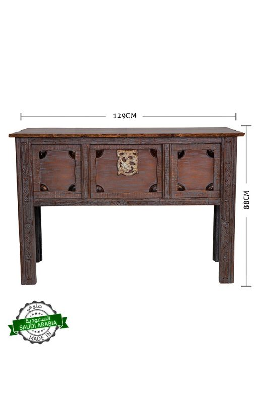 Console Table Wooden Handmade