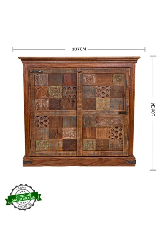 Cabinet Mosaic Wood Collection