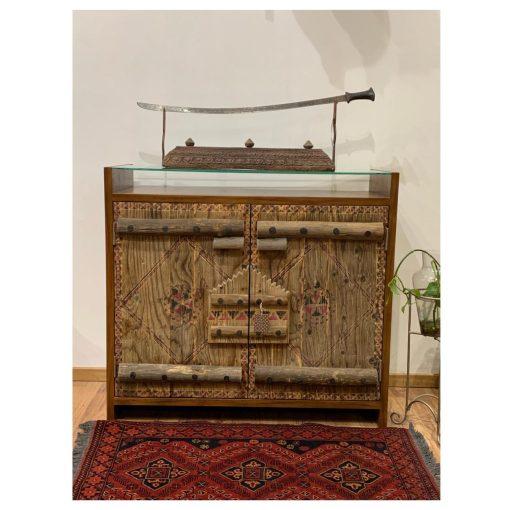 Najdi Door Cabinet Repurposed Handcrafted