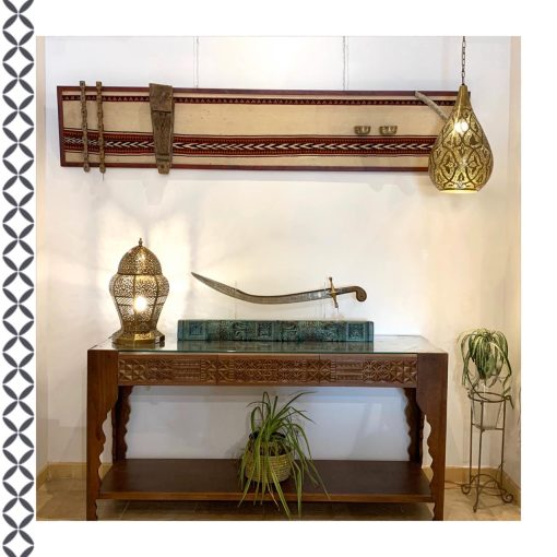 Arabesque Console Table Wooden