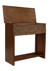 Console Table Wood Panel Carvings
