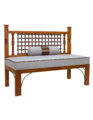 Recycled Teak Wood Bench