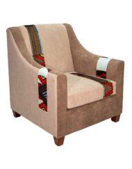 Upholstered Armchair Sadu Trim