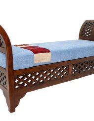 Moroccan Bench Custom Upholstered