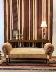 Upcycled Zollanvari Gabbeh Carpet Lounge