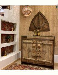 Saudi Door Cabinet Handcrafted