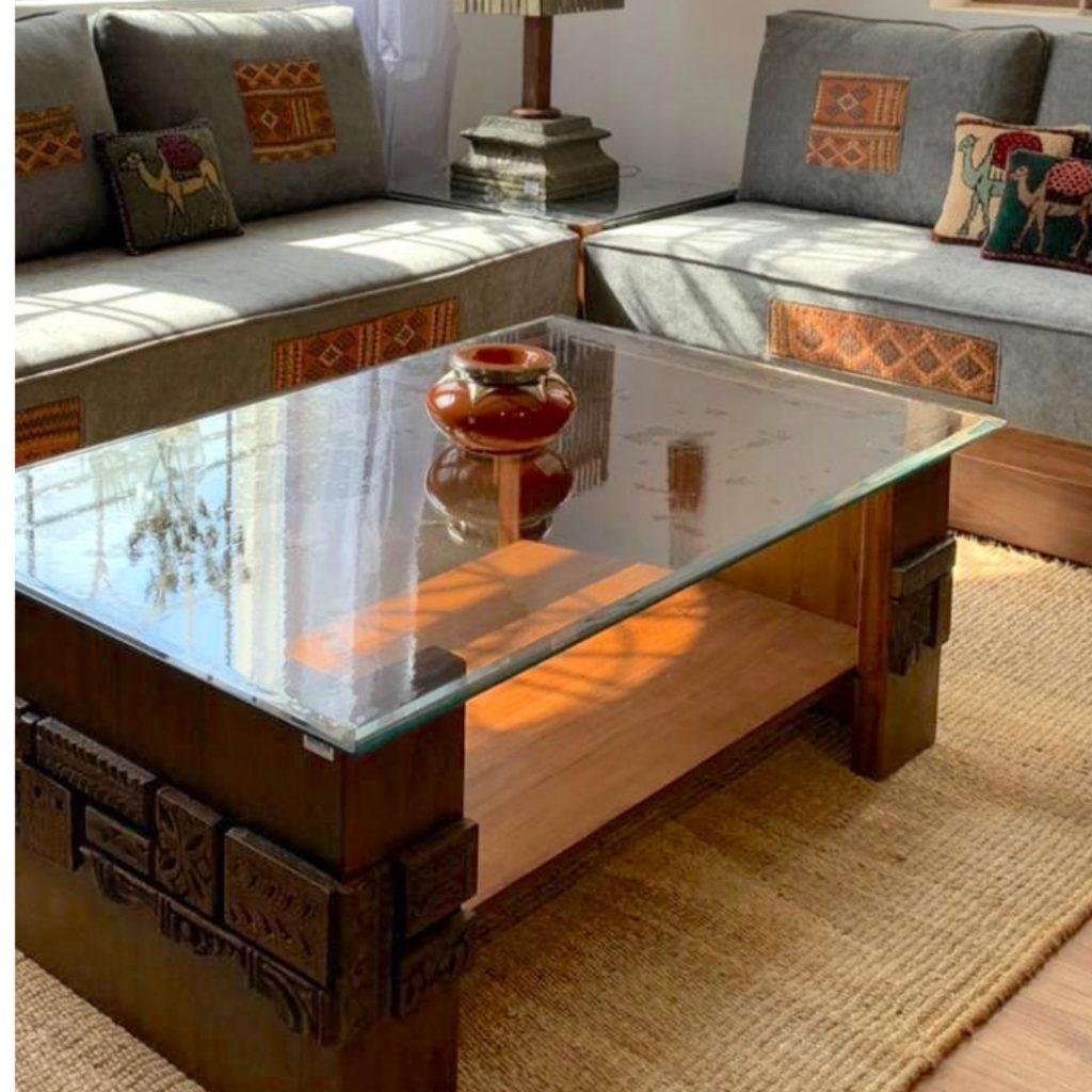 Coffee Table Naqsh Design
