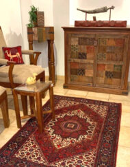 Mosaic Wooden Cabinet Handcrafted