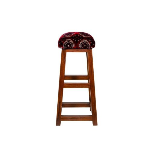 Bar Stool Upholstered Handcrafted