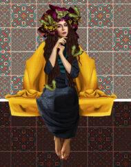 Sakna Hassan Mixed Media Digital Art