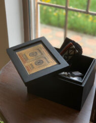 Etched Brass Gift Box Saudi Door