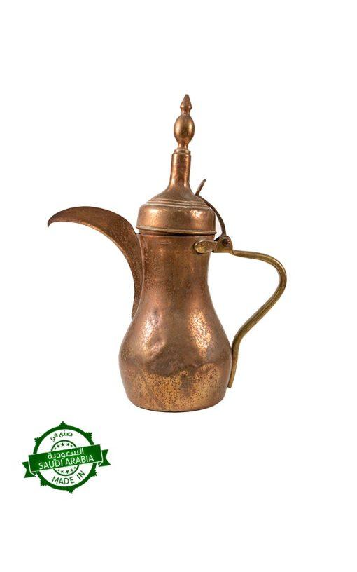 Brass Handmade Saudi 'Dallah' Coffee Pot