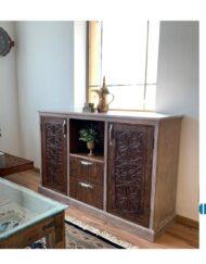 Sideboard Wooden Najdi Inspired Custom Made