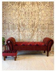 Custom Carpet Lounge Handcrafted