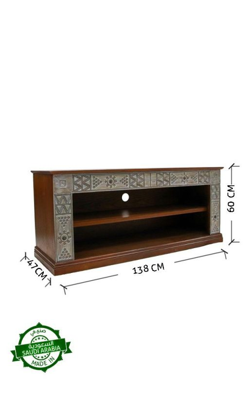 Najdi Inspired Wooden Console