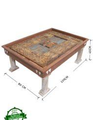 Saudi Pillar Coffee Table