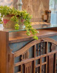 Art Deco Wooden Sideboard