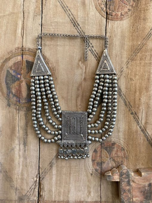 Silver Necklace Classic Vintage Bedouin